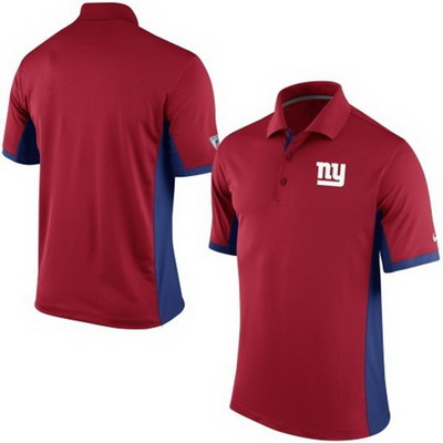 Men's New York Giants Nike Red Team Issue Performance Polo