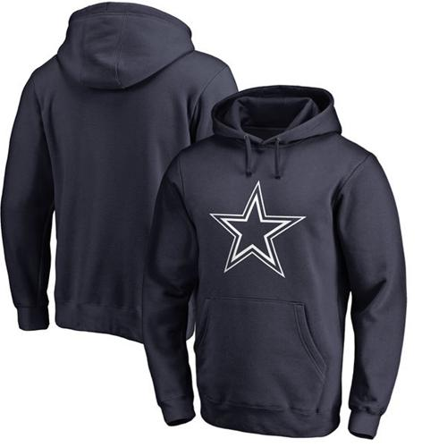 Men's Dallas Cowboys Nike Navy Champ Drive Vapor Speed Pullover Hoodie