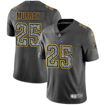 Nike Vikings #25 Latavius Murray Gray Static Men's Stitched NFL Vapor Untouchable Limited Jersey
