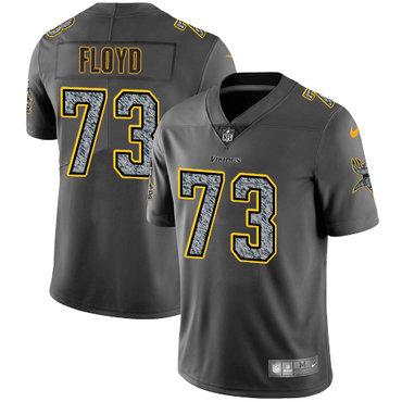 Nike Vikings #73 Sharrif Floyd Gray Static Men's Stitched NFL Vapor Untouchable Limited Jersey