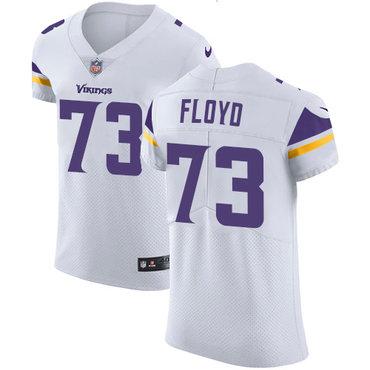 Men's Nike Minnesota Vikings #73 Sharrif Floyd White Stitched NFL Vapor Untouchable Elite Jersey