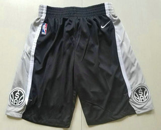 Nike San Antonio Spurs Black Swingman Shorts