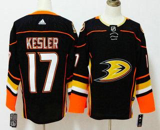 Men's Anaheim Ducks #17 Ryan Kesler Black 2017-2018 Hockey Stitched NHL Jersey