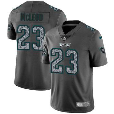 Nike Philadelphia Eagles #23 Rodney McLeod Gray Static Men's NFL Vapor Untouchable Game Jersey