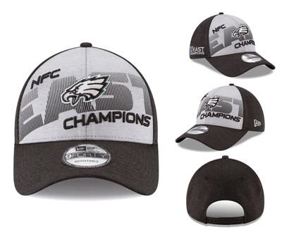 NFL Philadelphia Eagles Team Logo Gray 2018 NFC East Division Champions