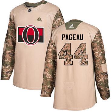 Adidas Senators #44 Jean-Gabriel Pageau Camo Authentic 2017 Veterans Day Stitched NHL Jersey