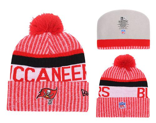 NFL Tampa Bay Buccaneers Logo Stitched Knit Beanies 003