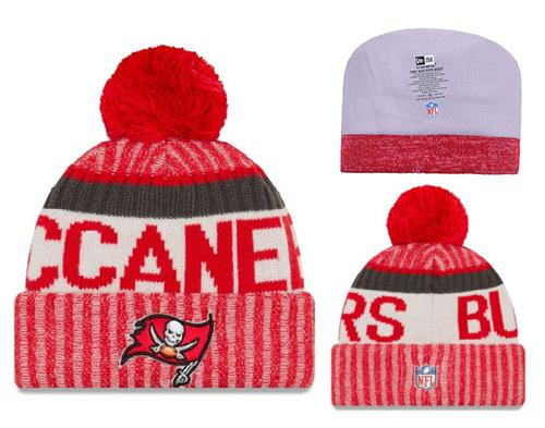 NFL Tampa Bay Buccaneers Logo Stitched Knit Beanies 001
