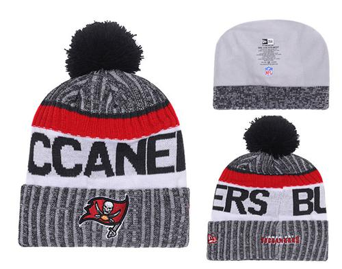 NFL Tampa Bay Buccaneers Logo Stitched Knit Beanies 005