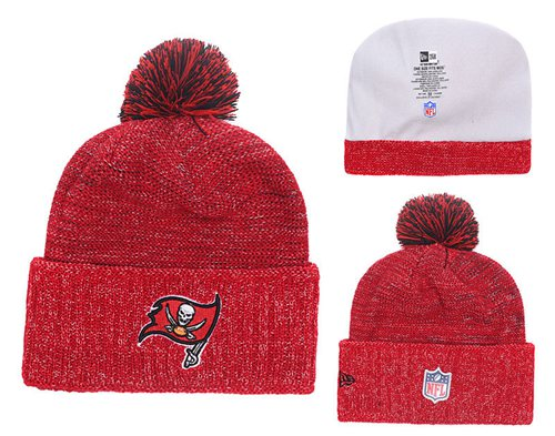NFL Tampa Bay Buccaneers Logo Stitched Knit Beanies 008