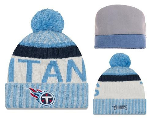 NFL Tennessee Titans Logo Stitched Knit Beanies 001