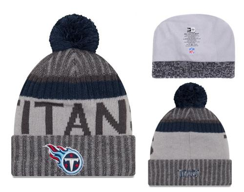 NFL Tennessee Titans Logo Stitched Knit Beanies 007