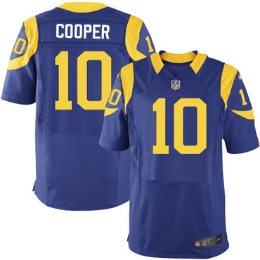 Nike Rams #10 Pharoh Cooper Royal Blue Alternate Men's Stitched NFL Elite Jersey