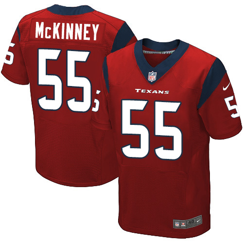 Nike Texans #55 Benardrick McKinney Red Alternate Men's Stitched NFL Elite Jersey