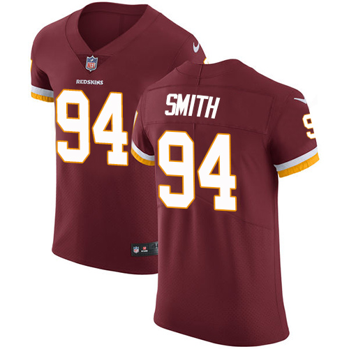 Nike Redskins #94 Preston Smith Burgundy Red Team Color Men's Stitched NFL Vapor Untouchable Elite Jersey