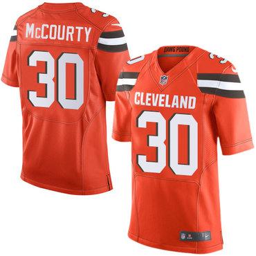 Nike Browns #30 Jason McCourty Orange Alternate Men's Stitched NFL New Elite Jersey