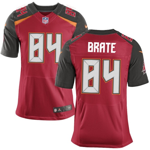 Nike Buccaneers #84 Cameron Brate Red Team Color Men's Stitched NFL New Elite Jersey