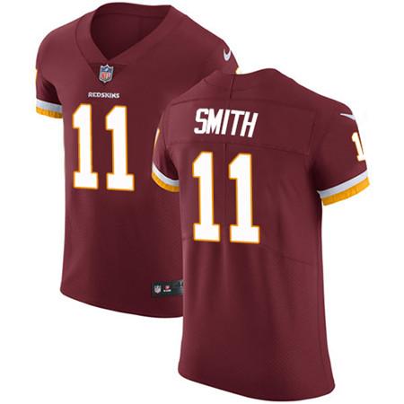 Nike Washington Redskins #11 Alex Smith Burgundy Red Team Color Men's Stitched NFL Vapor Untouchable Elite Jersey