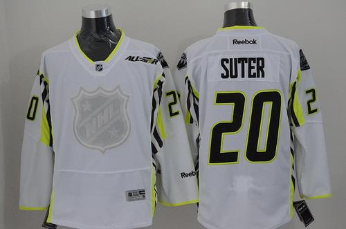 Minnesota Wild #20 Ryan Suter 2015 All-Stars White Jersey