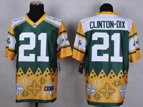 Nike Green Bay Packers #21 Ha Ha Clinton-Dix 2015 Noble Fashion Elite Jersey
