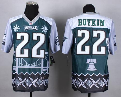 Nike Philadelphia Eagles #22 Brandon Boykin 2015 Noble Fashion Elite Jersey