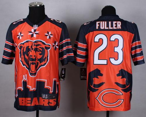 Nike Chicago Bears #23 Kyle Fuller 2015 Noble Fashion Elite Jersey