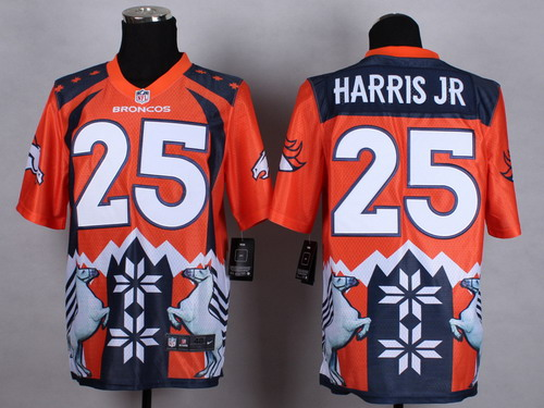 Nike Denver Broncos #25 Chris Harris Jr 2015 Noble Fashion Elite Jersey
