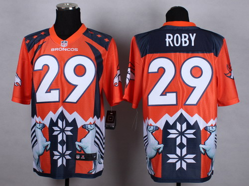Nike Denver Broncos #29 Bradley Roby 2015 Noble Fashion Elite Jersey