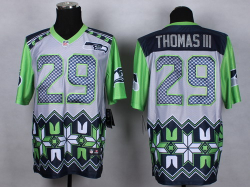 Nike Seattle Seahawks #29 Earl Thomas III 2015 Noble Fashion Elite Jersey
