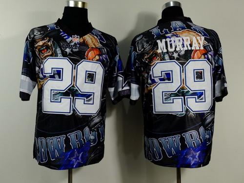Nike Dallas Cowboys #29 DeMarco Murray 2014 Fanatic Fashion Elite Jersey
