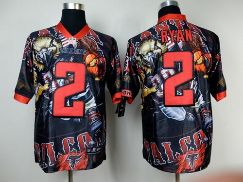 Nike Atlanta Falcons #2 Matt Ryan 2014 Fanatic Fashion Elite Jersey