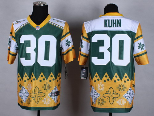 Nike Green Bay Packers #30 John Kuhn 2015 Noble Fashion Elite Jersey