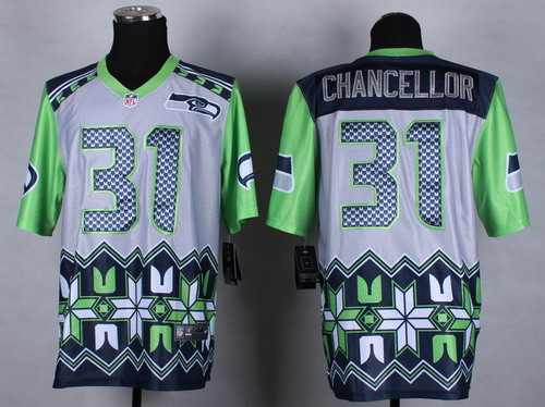 Nike Seattle Seahawks #31 Kam Chancellor 2015 Noble Fashion Elite Jersey