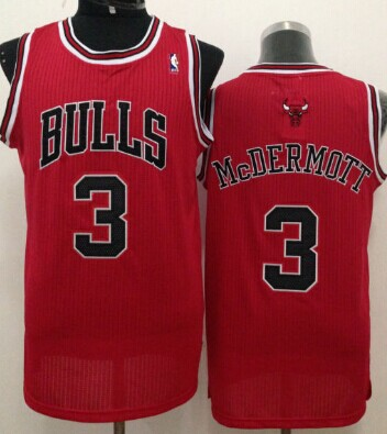 Chicago Bulls #3 Doug McDermott Red Swingman Jersey