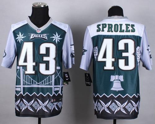 Nike Philadelphia Eagles #43 Darren Sproles 2015 Noble Fashion Elite Jersey