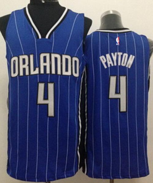 Orlando Magic #4 Elfrid Payton Blue Swingman Jersey