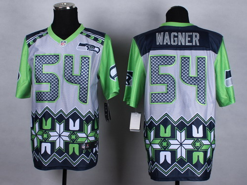 Nike Seattle Seahawks #54 Bobby Wagner 2015 Noble Fashion Elite Jersey
