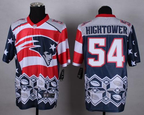 Nike New England Patriots #54 Donta Hightower 2015 Noble Fashion Elite Jersey