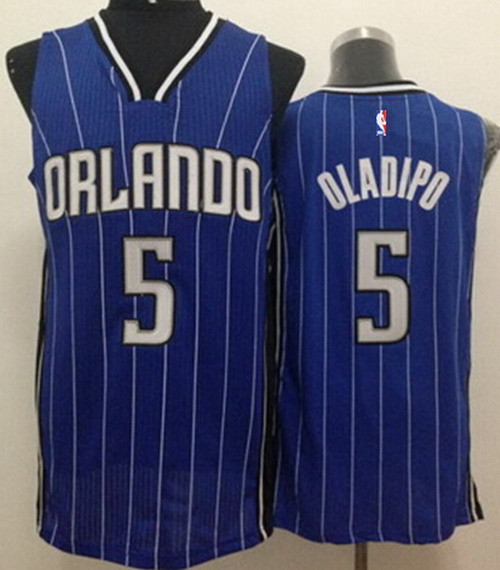Orlando Magic #5 Victor Oladipo Blue Swingman Jersey