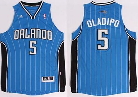 Orlando Magic #5 Victor Oladipo Revolution 30 Swingman Blue Jersey