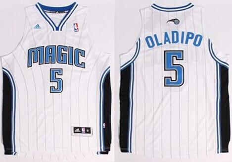 Orlando Magic #5 Victor Oladipo Revolution 30 Swingman White Jersey