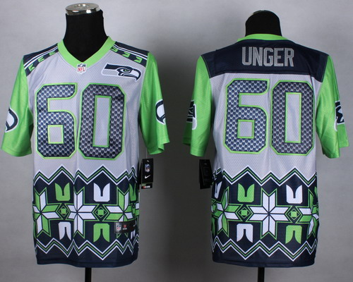 Nike Seattle Seahawks #60 Max Unger 2015 Noble Fashion Elite Jersey