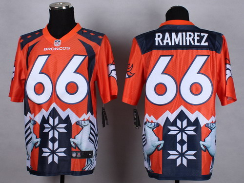 Nike Denver Broncos #66 Manny Ramirez 2015 Noble Fashion Elite Jersey