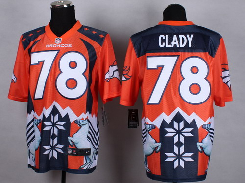 Nike Denver Broncos #78 Ryan Clady 2015 Noble Fashion Elite Jersey
