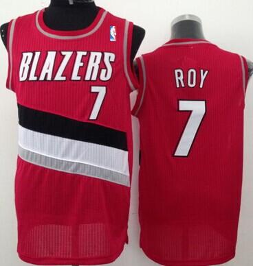 Portland Trail Blazers #7 Brandon Roy Red Swingman Jersey
