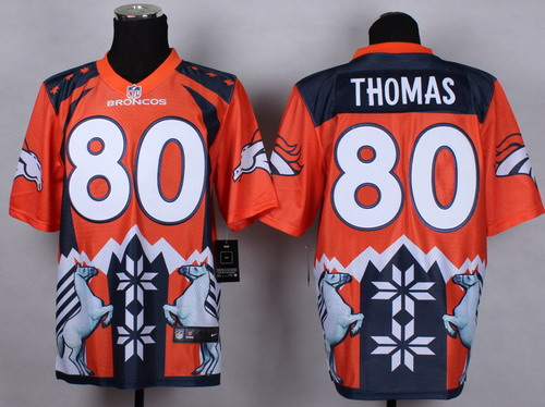 Nike Denver Broncos #80 Julius Thomas 2015 Noble Fashion Elite Jersey