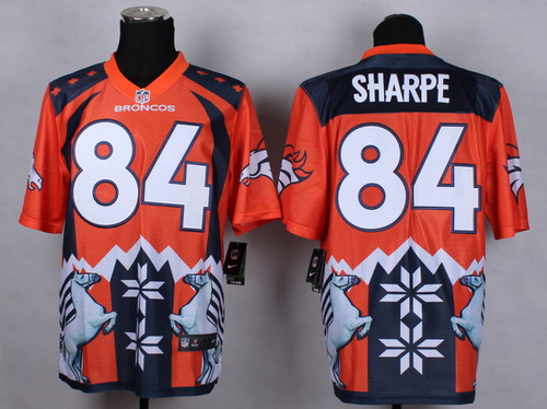 Nike Denver Broncos #84 Shannon Sharpe 2015 Noble Fashion Elite Jersey