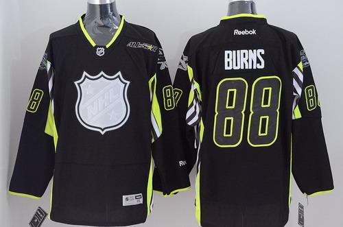 San Jose Sharks #88 Brent Burns 2015 All-Stars Black Jersey