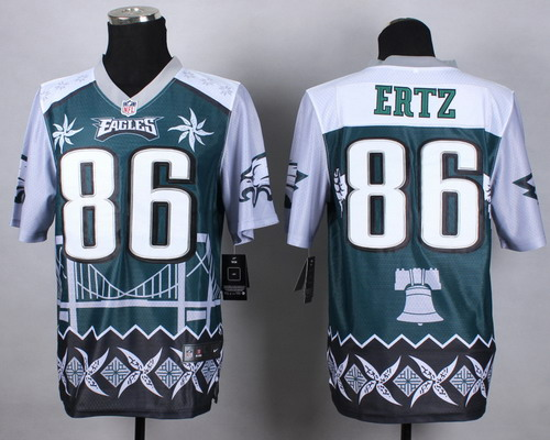 Nike Philadelphia Eagles #86 Zach Ertz 2015 Noble Fashion Elite Jersey
