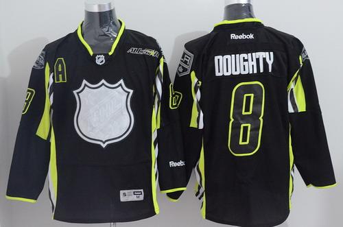 Los Angeles Kings #8 Drew Doughty 2015 All-Stars Black Jersey